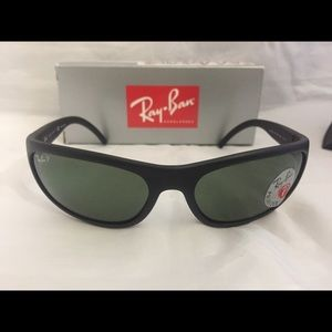 8fd2afe7f790 Ray-Ban Accessories - Ray Ban RB4033 Polarized Sunglasses Matte Black